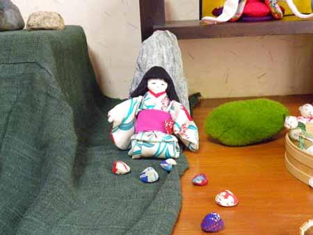 お人形(1個貝付き)
